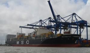 Portonave cresce 13,8 porcento em 2013 - MSC Arbatax