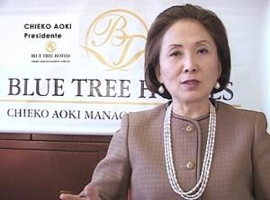 Chieko-Aoki-presidente-da-rede-Blue-Tree-Hotels
