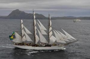 Seis dos maiores veleiros do mundo abrem as portas ao público na próxima semana em Itajaí - Velas Latinoamérica - Cisne Branco