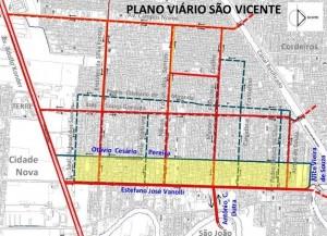 Assinada ordem de serviço para o Binário do São Vicente 1
